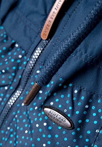 Alife B amp; Fuchsia Kickin Bleu Mamba Black Dots Jacket 6xAR6rFw