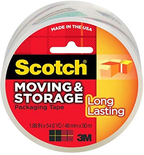 3M 3650C Scotch 1.88in x 54.6yd Mailing and Storage Tape