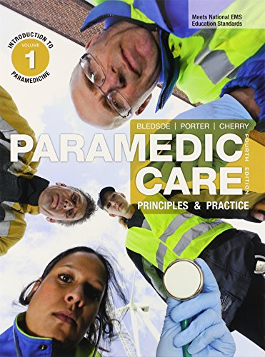 Paramedic Care: Principles & Practice, 7-Volume Package