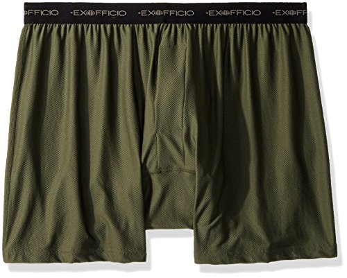 ExOfficio Men's Give-N-Go Boxer Shorts, Nordic, Large by ExOfficio