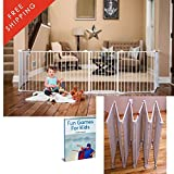 Baby Playard Fence Indoors Outdoors Wide Opening Portable Safety Gate Hardware Mounted White Playpen Lock Customized Freestanding Infant Secure Surround 8 Panels Play Safe And eBook By NAKSHOP