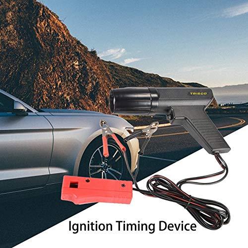 Lampada Detector 12V motore del motociclo dellautomobile professionale Timing Light accensione High Beam Timing luce stroboscopica induttivo Timing nero