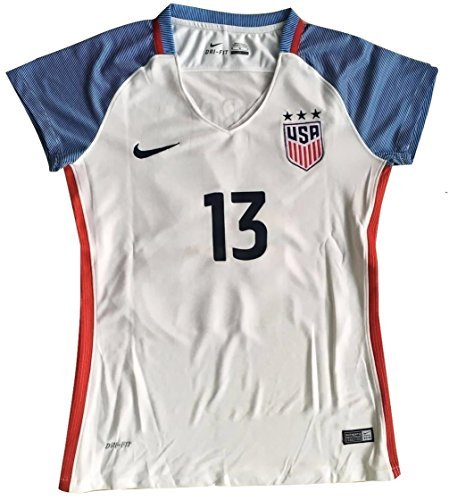 reputable site f8f15 eb954 Galleon - 2016-2017 Alex Morgan #13 WOMEN'S USA National ...