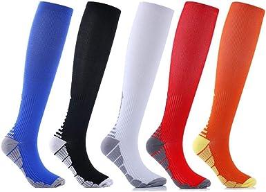 Yagoal calcetines algodon mujer calcetines crossfit Calcetines de ...