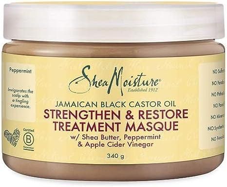 Shea Humedad jamaicana Negro Aceite de ricino Fortalecer/Grow y ...