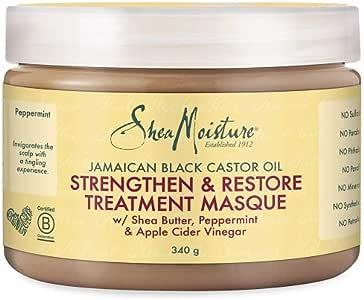 Shea Moisture Jamaican Black Castor Oil Strengthen/Grow and Restore Treatment Masque 326 ml