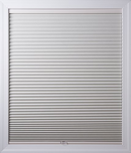 New Age Blinds Room Darkening Inside Frame Mount Cordless Cellular Shade, 36-1/4 x 72-Inch, White Dove