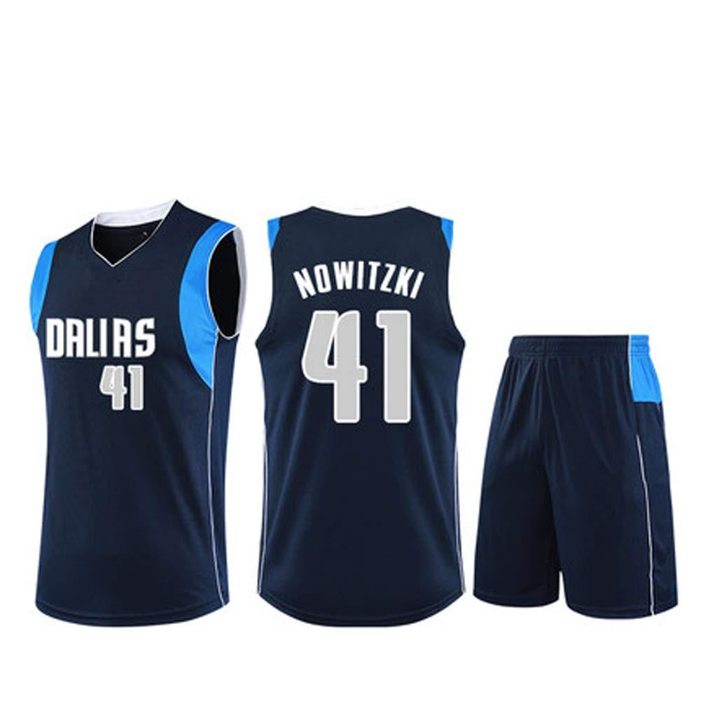 AELN # 41 Dirk Nowitzki Camiseta de Baloncesto de la Leyenda ...