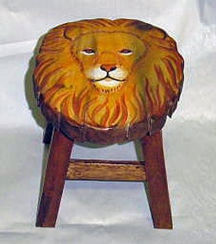 Amazing Amazon Com Footstools Majestic Lion Footstool Lion Beatyapartments Chair Design Images Beatyapartmentscom