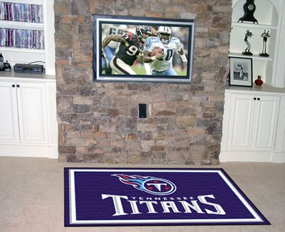 NFL - Tennessee Titans 5 x 8 Rug
