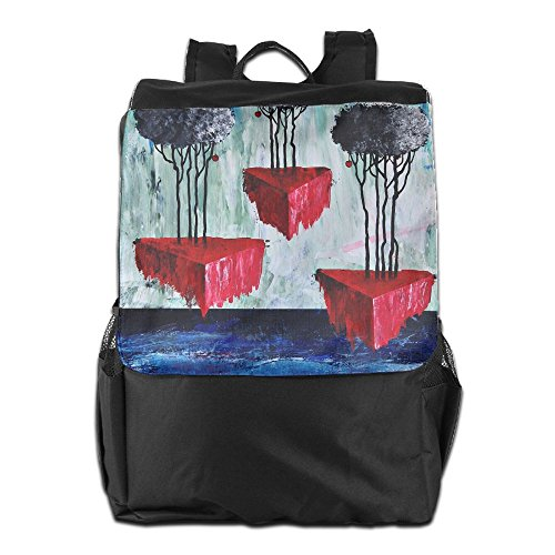 Oil Camping Travel Storage And Strap Women Painting HSVCUY Shoulder For Dayback Men Abstract Personalized Outdoors School Adjustable Backpack HRxCIn01