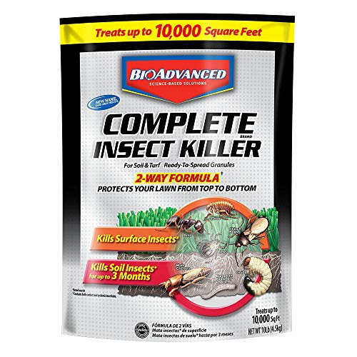 Insects Lawn Care (Bayer 700288S  Advanced  Complete Insect Killer for Soil and Turf Granules, 10-Pound)