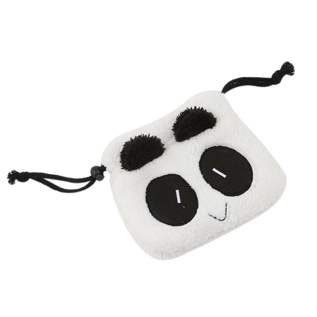 CanVivi süße kleine Tasche Panda beutel Aufbewahrungstasche Organizer Plüsch faltbare Tasche