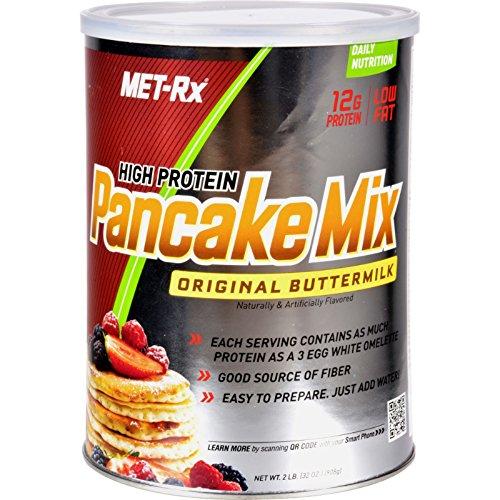 Met - Rx Protein Plus Pancake Mix Original Buttermilk - 32 oz - High Protein - Original Buttermilk Flavor