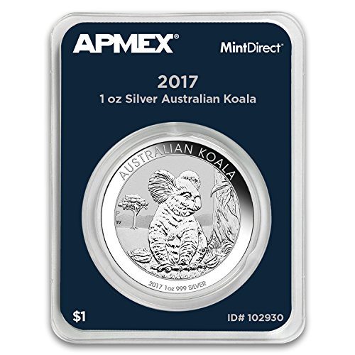 2017 AU Australia 1 oz Silver Koala (APMEX MintDirect Single) 1 OZ Brilliant ()