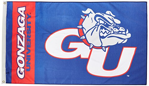 Ncaa Gonzaga Bulldogs 3 By 5 Foot Flag With Grommets