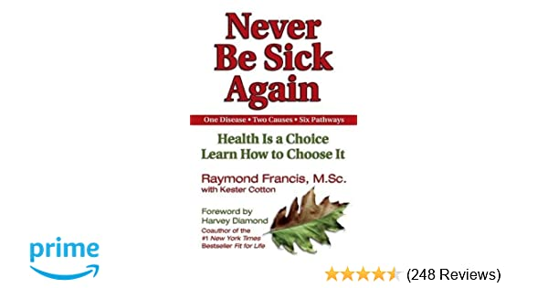 Never Be Sick Again Health Is A Choice Learn How To Choose It