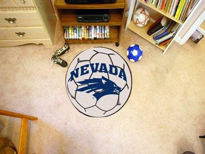 University of Nevada Soccer Ball Rug ()
