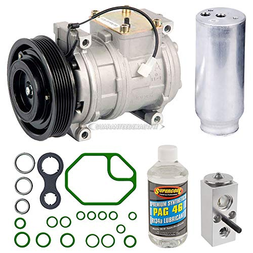 AC Compressor w/A/C Repair Kit For Chrysler Concorde & Dodge Intrepid - BuyAutoParts 60-80158RK New ()