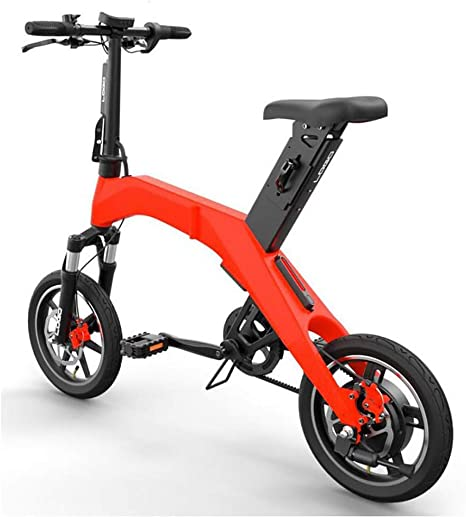 TX Bicicleta eléctrica Plegable Ciudad Urbana de Viaje de Aviones ...