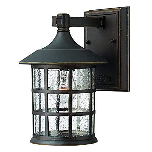 Hinkley 1800OZ Traditional One Light Wall Mount from Freeport collection in Bronze/Darkfinish  sc 1 st  Amazon.com & Hinkley Lighting: Amazon.com