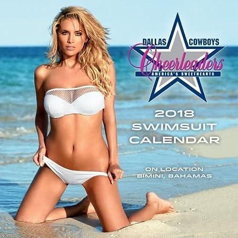 e92a718368 Amazon.com   2018 Dallas Cowboys Cheerleaders Swimsuit MINI Wall Calendar    Everything Else