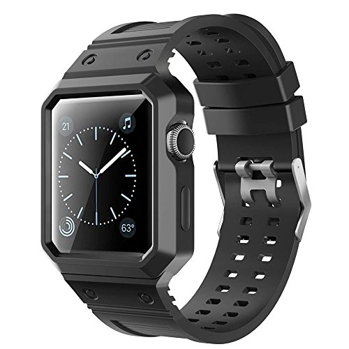 Saienitisi Rugged Protective Case With Black Strap Bands