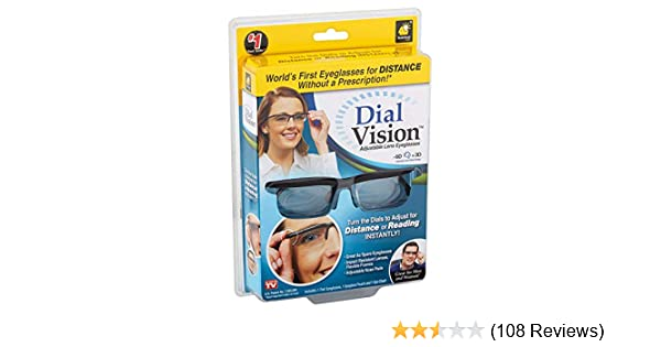 91f4856d0f Amazon.com  Dial Vision Unisex Glasses by BulbHead