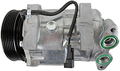 BEHR HELLA SERVICE 8FK 351 113-951 Compresor, aire acondicionado: Amazon.es: Coche y moto
