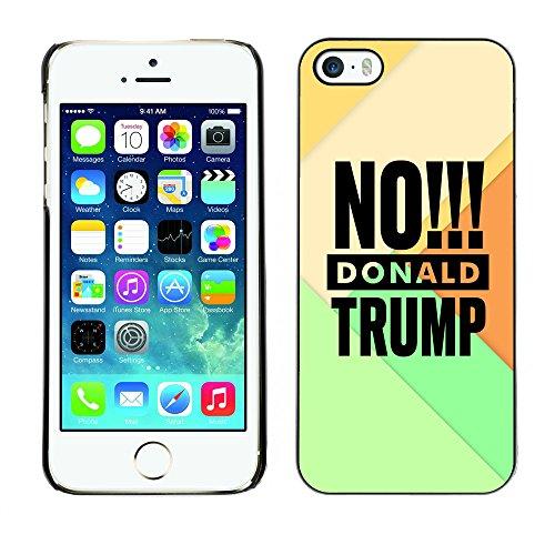 Print Motif Coque de protection Case Cover // Q04090549 Aucun élément de Donald Trump // Apple iPhone 5 5S 5G