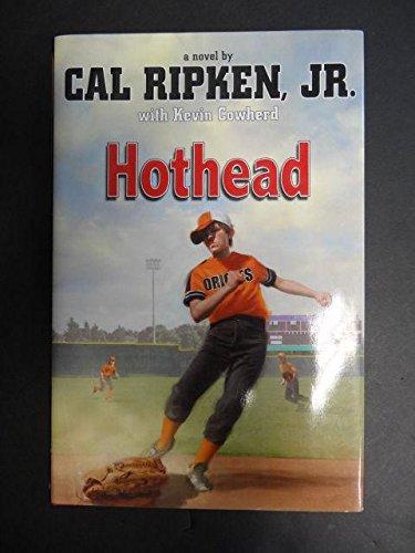 Cal ripken jr hothead autograph signed book baltimore orioles jsa.