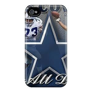 Cgi113YSrn Dallas Cowboys Fashion Tpu 4/4s Case Cover For Iphone
