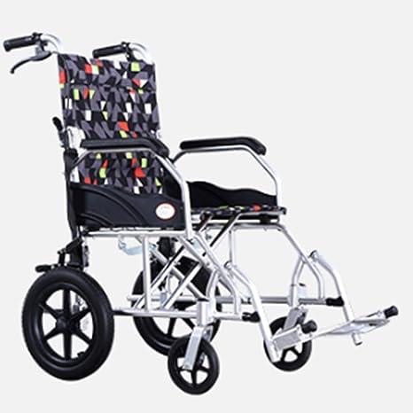 GBX@I Silla de ruedas de aleación de aluminio plegable ...
