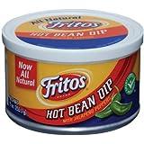 Fritos Hot Bean Dip, 9 Oz Can (Pack of 24)