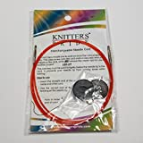 Knitters Pride Interchangeable Color Cord Variety Pack - All 5 Sizes, 16, 20, 24, 32, 40