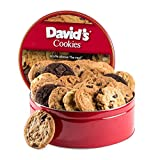 David's Cookies Assorted Fresh Baked Cookies 2 lb. Tin