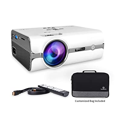 VANKYO Leisure 410 LED Projector with 2500 Lux, Carrying Bag and HDMI Cable, Portable Projector Supports 1080P, HDMI, USB, VGA, AV, SD Card, Compatible with Fire TV Stick, PS3/PS4, Xbox