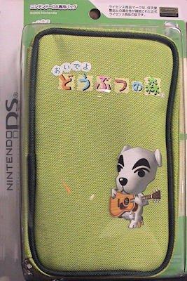Official Nintendo Animal Crossing DS Carrying Pouch - K.K. Slider / Totakeke (Japanese Import)
