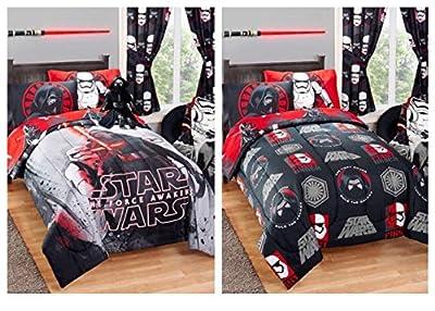 """Star Wars Kylo Ren Reversible Kids Twin / Full Size Bed Comforter - 72"""" X 86"""""""