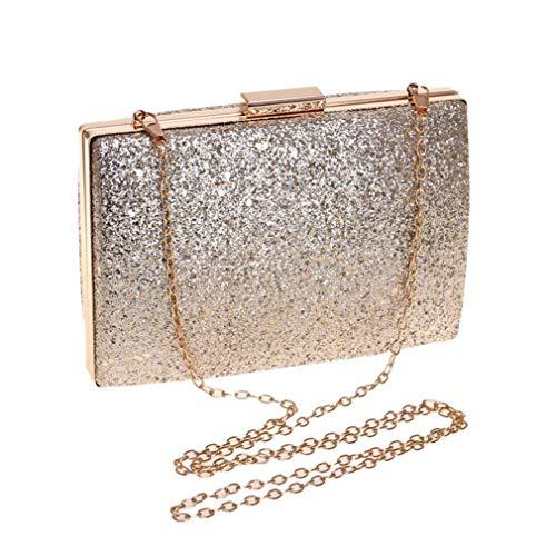 Mariage De D'embrayage Luxe Yanxh Mode Sac Sacs Soirée Fête Main Femmes À Gold Paillettes nZApAPx
