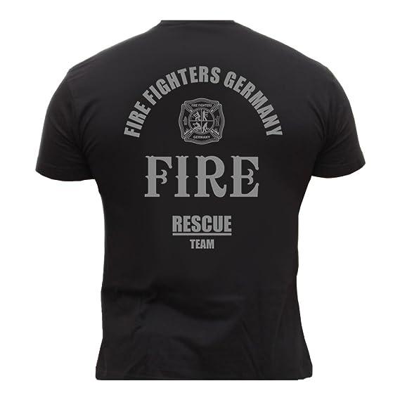 Rescue Point Firefighter Fireman Feuerwehr Herren T-Shirt KF3DE: Amazon.de:  Sport & Freizeit