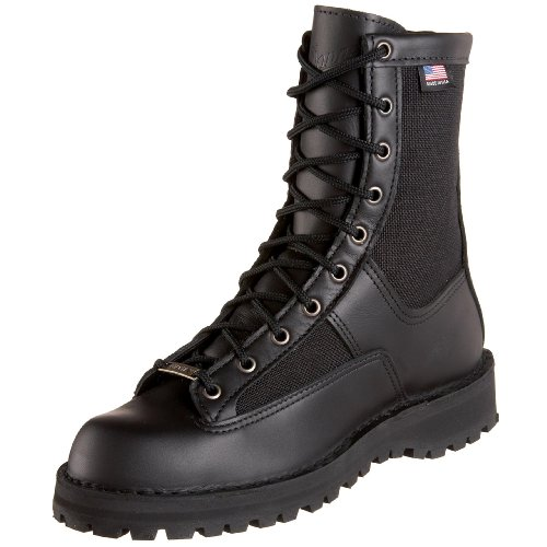 Danner Women's Acadia W Uniform Boot,Black,8 M US