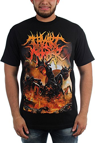 Thy Art Is Murder - Mens Hate T-Shirt, Size: Medium, Color: ()
