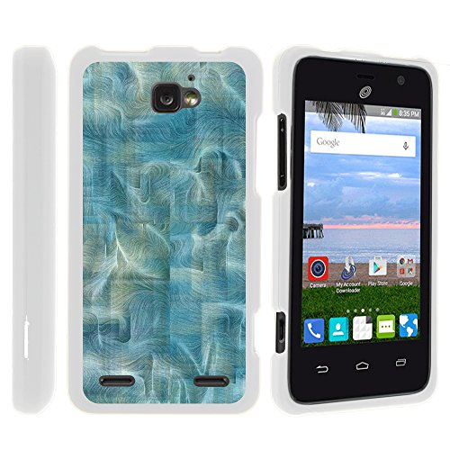 Paragon Z753G Phone Case, Slim Hard Shell Snap On Case with Custom Images for ZTE Zephyr Z752C, ZTE Paragon Z753G, ZTE Sonata 2 from MINITURTLE - Sea of Winding Paths (Sonata Path)