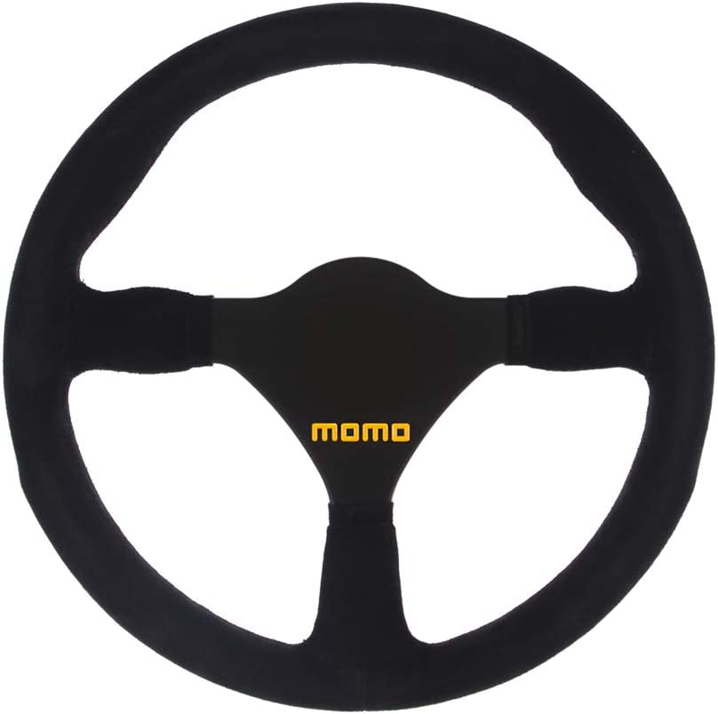 8.07 inches Formula 11.02 inches 3 Holes Crowders Racing Steering Wheel x 205mm - Black Suede Leather with Black Spokes - Part # 20167//1//S 280mm 50.8mm PCD