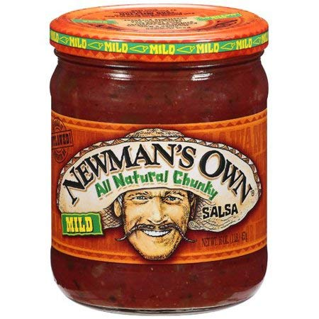 Newman's Own Mild All Natural Chunky Salsa 16 oz - 5Pack by by Newman's Own