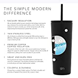 Simple Modern Classic Insulated Tumbler with Straw