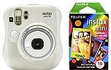 #2: Fujifilm Instax Mini 26 + Rainbow Film Bundle - White