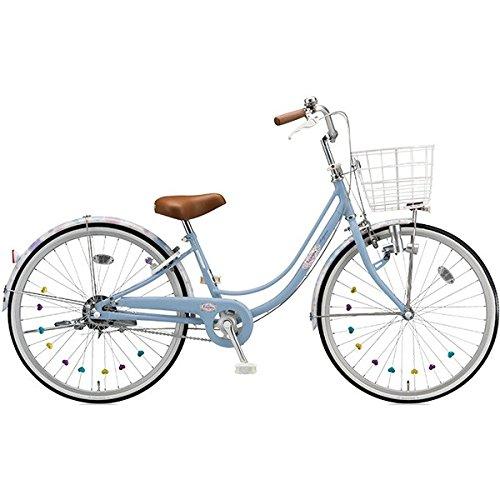ブリヂストン(BRIDGESTONE) 女の子用自転車 リコリーナ RC60 E.Xカームブルー 26インチ変速なし ダイナモランプ B071F3F9XR