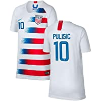 Nike Official USA Home Youth Jersey 2018-19 Pulisic 10